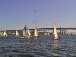 Battling the Thames River to finish 7th Overall
