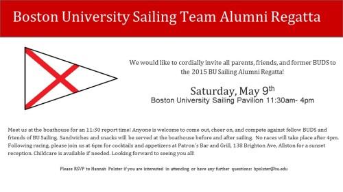Alumni Regatta Invite